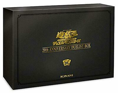 Yu-Gi-Oh YuGiOh 20th ANNIVERSARY DUELIST BOX Free Shipping w/Tracking# New Japan