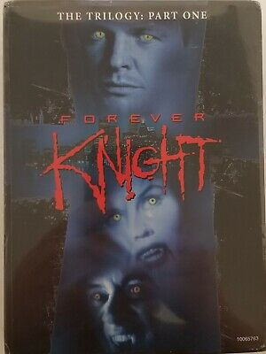 Brand New & Sealed Forever Knight Trilogy Part 1 5-Disc Dvd Set! Free Shipping!