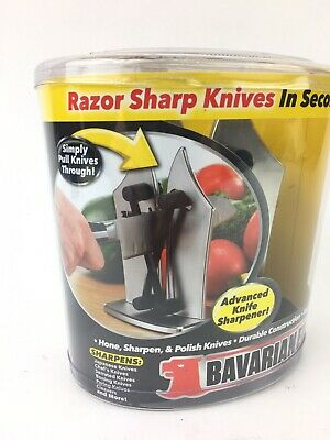 Bavarian Edge Kitchen Knife Sharpener Sharpen Knives Sharp As Seen On TV