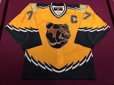 a0be16286 AUTHENTIC BOSTON BRUINS Pooh Bear AUTOGRAPHED Ray Bourque Hockey Jersey -  w/ COA - $337.86 | PicClick