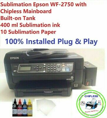 SUBLIMATION EPSON XP-340 ChipLess Mianboard Built-on Tank with Ink