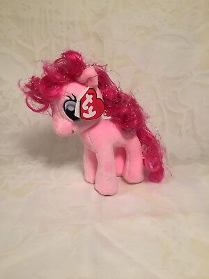 TY My Little Pony Fluttershy Beanie Babies Stuffed Plush Collectible Toy Small