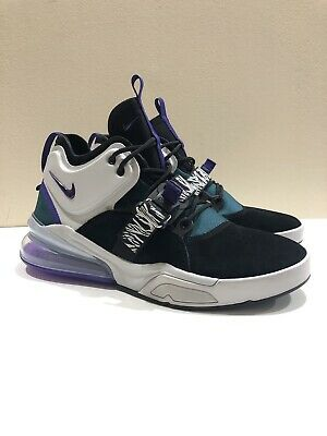 new style b3311 5466a Nike Air Force 270 Mens Size 10 Carnivore Black Court Purple Zebra  AH6772-005