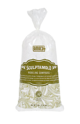 Sculptamold Modelling Compound (1.36 kg Bag)  - Brand New