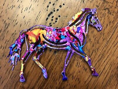 Horse ornament, Horse, nautical ornament, trout, Recycled aluminum can Horse