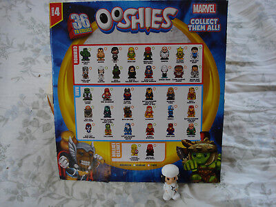 MARVEL COMICS SERIES 4 OOSHIES Pure electra ooshie blind bag