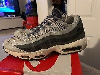 check out c6251 75eaa Men s Nike Air Max 95 Size 11.5 Pre Owned 609048-085 Authentic Wolf Grey