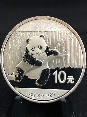 2014 1oz CHINESE SILVER PANDA INVESTMENT GRADE .999 BULLION COIN - FREE SHIPPING