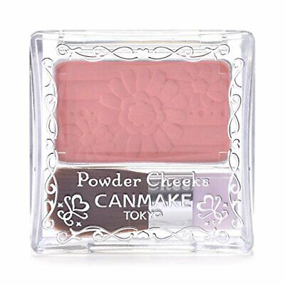 Canmake powder cheeks PW33 shell pink 4.4g Free Ship w/Tracking# New from Japan