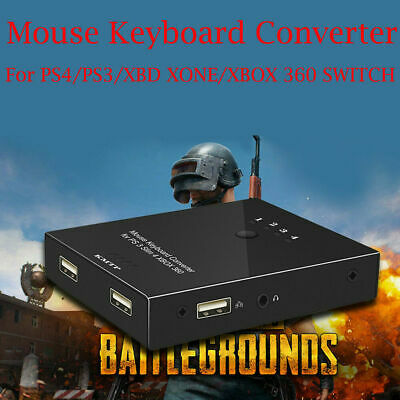 Keyboard & Mouse Macro Converter Adapter For Switch PS4 XBOX PC PUBG bc2