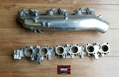 Nissan Skyline R33 Gtr Rb26Dett Polished Inlet Manifold Upper & Lower Plenums