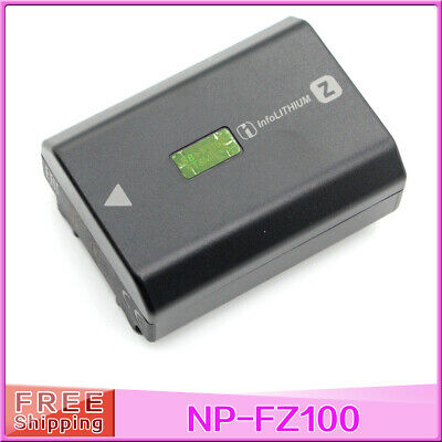 NP-FZ100 Rechargeable Battery for Sony ILCE 9 A9 A7RM3 A7RIII a7 III BC-QZ1