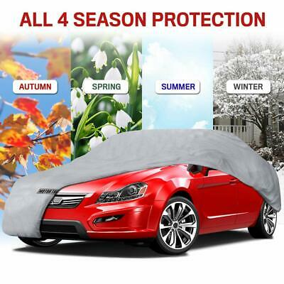 SMALL SIZE S FULL CAR COVER UV PROTECTION WATERPROOF BREATHABLE Winddow Pocket