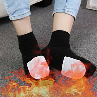 10 Pairs Foot Warmer Lasting Heat Sticker Patch Winter Keep Body Warm Paste Pads