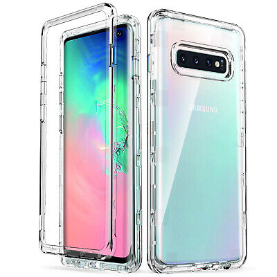 for Samsung Galaxy S10 Case Clear Transparent Heavy Duty Shockproof ULAK  Cover