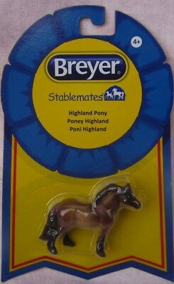 Highland Pony Breyer NIP 6028 Dun NEW Stablemate Model Horse