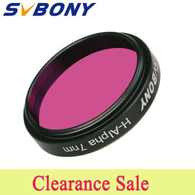 "NEW SVBONY H-Alpha 7nm 1.25"" Filter Narrowband Astronomical Photographic AU Ship"