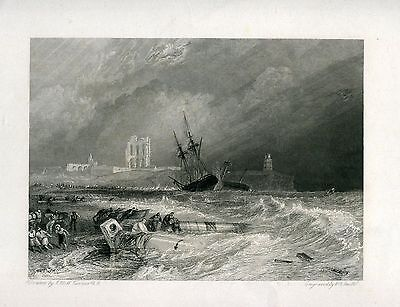 Engraved antique by W.R. Smith on work of J.M.w. Turner
