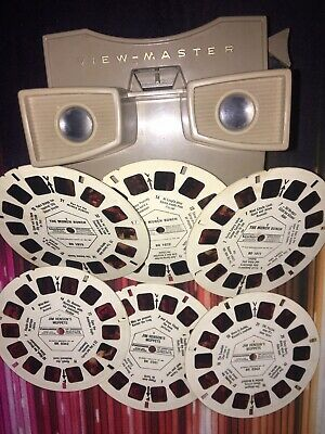 Viewmaster viewer  With Discs Muppets And Munch Bunch