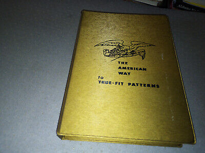 Vintage THE AMERICAN WAY TO TRUE-FIT PATTERNS BOOK LUTTERLOH 1960s