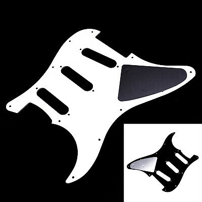 Bass Guitar Pickguard Replacement Standard Black White Protecting Scratch Plate