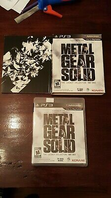 Metal Gear Solid: The Legacy Collection with Artbook and Cardboard sleeve. (PS3)