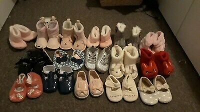 Baby Girl Shoes Bundle 0-3 Months 3-6 Months 6-9 Months