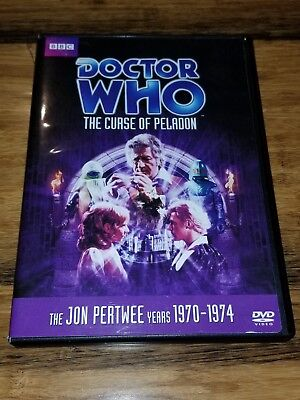 Doctor Who - The Curse of Peladon (DVD, 2010) The Jon Pertwee Years 1970-1974
