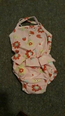 Baby Girl 0-3 Months Mothercare Swimming Costume