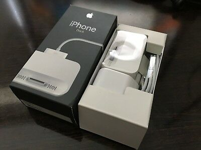 Apple Retail Boxed Power Supply & Dock Kit For iPhone 2G 1st MA816B/A