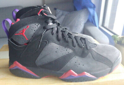 4873bba89f0e Men s Nike Air Jordan Retro 7 Defining Moments Raptors Black Red (2009) Sz