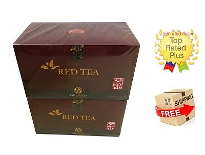 2 Cajas Organo Gold Red Tea With Ganoderma Lucidum - Expiry 02/2021 Tax Free