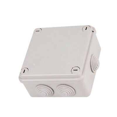 Waterproof ABS White Electronics Junction Project Box 3.94x3.94x1.97inch