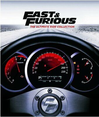 NEW!!! Fast and Furious: The Ultimate Ride Collection (DVD, 2017, 8-Disc Set)