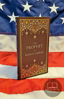 NEW THE PROPHET by Kahlil Gibran Bonded Leather Collectible Edition