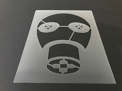 Navy Gas Mask #1 Stencil 10mm or 7mm Thick Army Military Air Force Jet