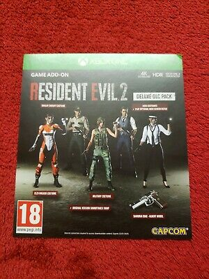 Resident Evil 2 Remake Deluxe Edition DLC Costumes, Soundtrack, Gun Xbox One