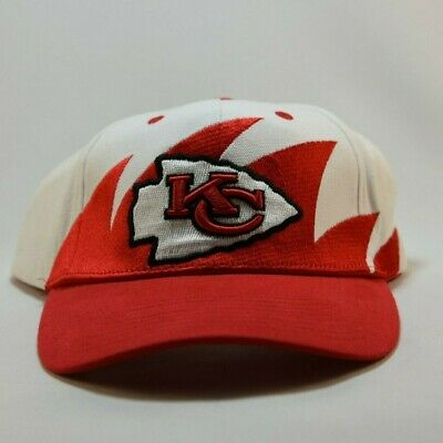 Brand New Kansas City Chiefs 90's NFL Vintage Self Adhesive Hat made by NFL
