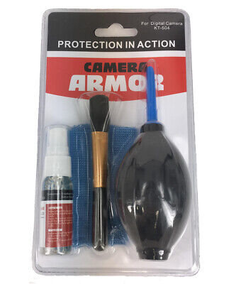 Camera Armor - Protection in Action - Digital Camera Cleaning Kit - KT-504
