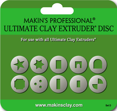 Makins SET D Professional Ultimate Clay Extruder Disc