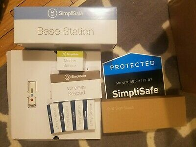 Simplisafe Security System, 8 pieces (NEW)