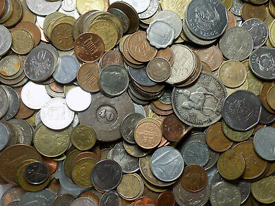 8+ pounds of World Coins - many countries