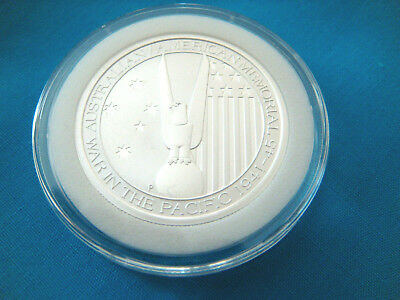 2013 1/2 oz. Australia-WAR IN THE PACIFIC-SILVER ROUND.9999 FINE BU