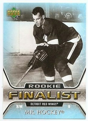 05/06 UPPER DECK ALL-TIME GREATEST Hockey (#46-90) U-Pick From List