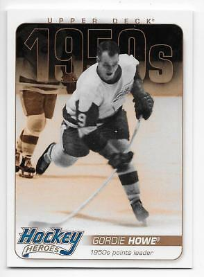 11/12 UPPER DECK 1950s HOCKEY HEROES Hockey (#HH1-HH13) U-Pick from List