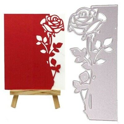 Metal Cutting Dies Rose Flower Dies Scrapbooking Stencils Stamps Craft Die