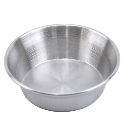 Small Large Bowl Sauce Dip Soup Bowl Dipping Dish Snack Stainless Steel Bowl Jia