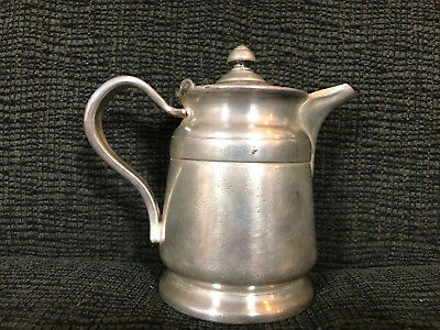 Reed & Barton Silver Soldered 2800 12 Oz. Vintage Creamer Pitcher Gift Clean