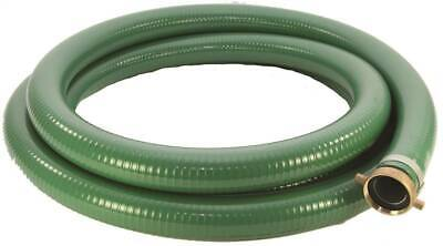 25 Length Blue 65 psi Max Pressure 2 ID Abbott Rubber PVC Discharge Hose Assembly 2 Male X Female Cam And Groove