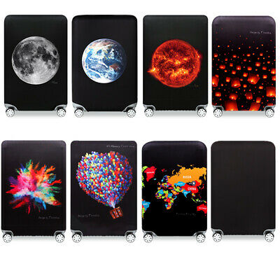 """19""""-32"""" Fashion Luggage Protective Cover Travel Suitcase Elastic Dust Protector"""